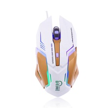 Snigir brand M5 computer usb PC Wired optical mouse games for dota2 souris gaming raton gamer muis sem fio notebook mice 3D ACR(China)
