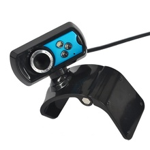 NEW 8 MegaPixel CMOS HD Web Cam with 3 LED Webcam USB Web Camera with Mic Microphone 360 Degrees Rotating for PC Computer Laptop