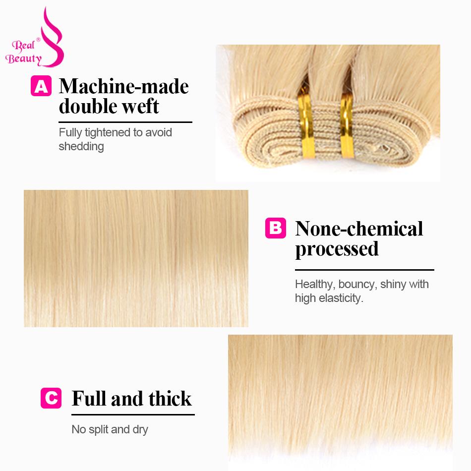 613 blonde bundles, blonde human hair weave bundles ,honey blonde brazilian hair bundles ,brazilian remy hair straight hair (4)
