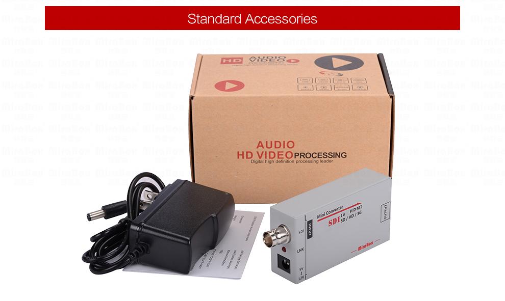 1080P Mini 3G SDI To HDMI Converter With Audio For HD Camera SDI To HDMI Video Converter Mini Box Support SDI3GHD SDI Signal (10)