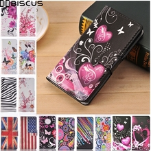 For XiaoMi RedMi 3S 3 Pro Prime Case Retro Leather Flip Wallet Cover For XiaoMi RedMi 3 Pro Cases UK Flag Butterfly Fundas Coque(China)