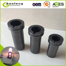 Free shipping!!!1pcs,1kg2kg3kg, gold Melting Furnace crucible, gold melter crucible, graphite crucible(China)