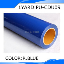 1 yard wholesale white color PU heat transfer film for clothing+korean quality