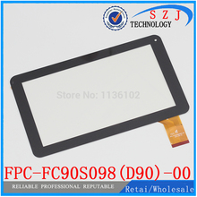 Original 9'' inch case MOMO9 dual-core version touch screen FPC-FC90S098 (D90) -00 capacitive touch panel Free shipping(China)