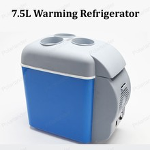 Portable Mini Warming and Cooling Vehicle Refrigerator 12V 7.5L Car Freezer Fridge Hot and Cold Double Use For Car And Home