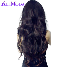 Ali Moda Hair Peruvian Body Wave 100% Human Hair Weave Bundles 1pc/lot Non Remy Hair Extensions Free Shipping