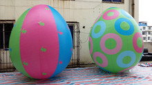Free shipping 3m High quantity giant inflatable easter eggs for outdoor advertising / promotion