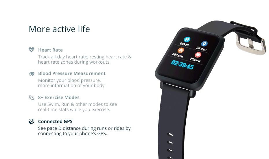 COLMI Smart Watch M28 IP68 Waterproof Bluetooth Heart Rate Blood Pressure Smartwatch for Xiao mi Android IOS Phone 7_31