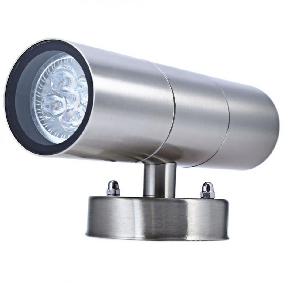 Hot Sale 6 LED Wall lamps Super Bright Waterproof Wall Lights For Yard Corridor Villas Parks Path Outdoor Modern Led Wall Light<br><br>Aliexpress