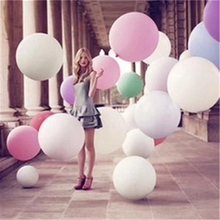 70CM Huge Latex Ballons or Tissue Garland Wedding Decoration Big Balloon For Party Birthday Carnival Wedding Balloon Toy Ball(China)