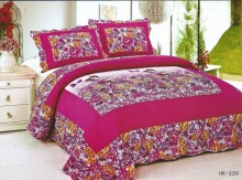 Printed cotton three-piece bedding set quilt factory direct trade boutique(China)