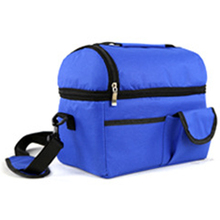 Portable Ice Bags Waterproof Nylon Cooler Lunch Breast Milk Storage Leisure Picnic Packet Bento Box Food Thermal Tote Handbag