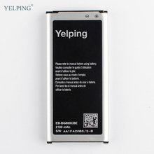 Yelping EB-BG800CBE Mobile Phone Replacement Battery For Samsung GALAXY S5 mini SM-G800F G870a G870W with NFC Function 2100mAh