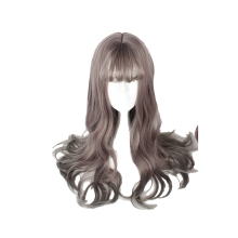 MCOSER 65CM Japan and South Korea Synthetic Hair Air Bang Mix Color Harajuku Cosplay Wig 100% High Temperature Fiber WIG-635A(China)