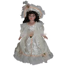 40cm retro porcelain doll girl ceramic dolls Exquisite fashion, European, Victorian style, porcelain doll simulation doll