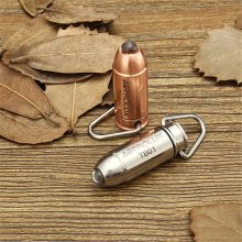 Astrolux TB-01 Bullet Copper/Stainless Steel 45LM Mini LED Keychain Flashlight led light lamp mini torch+6 x LR41 battery