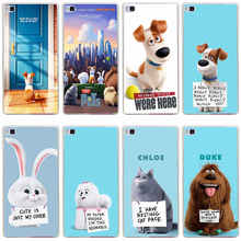 347GH The Secret Life of Pets Hard Transparent Cover for Huawei P7 P8 P8 P9 P10 Lite y5 ii Honor 4C 5C 6 7 8 Nova