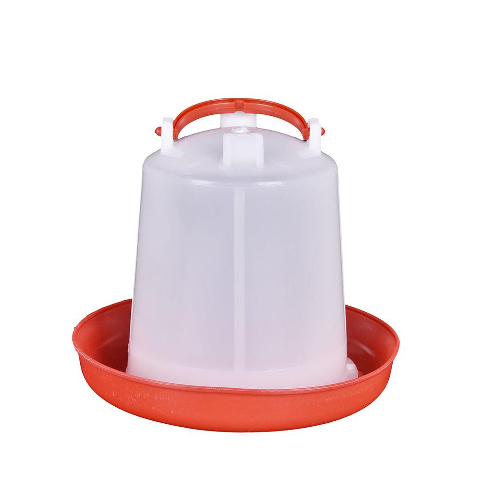 Automatic Pet Feeder Chicken Quail Poultry Bird Pheasant Feed Water Tool 30BLUS