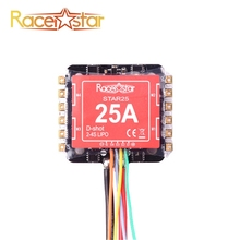 Racerstar Star25 25A BLHELI_S 2-4S 4 in 1 20x20mm Brushless ESC Dshot600 Ready for RC Racer Racing Drone Quadcopter Spare Parts(China)