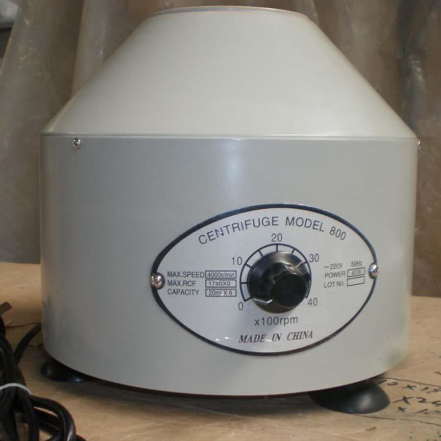 800 Desktop Electric Medical Lab Centrifuge Laboratory Centrifuge Electric Centrifuge LAB &amp; MEDICAL Practice<br>