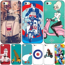 vespa scooter cell phone Cover case for iphone 6 4 4s 5 5s SE 5c 6 6s 7 plus case for iphone 7