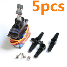 5pcs TowerPro MG92B Digital Servo  Metal Gear 3.5kg/cm Torque For RC Model Airplane Aeromodelling Helicopter Parts
