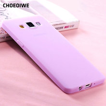 CHOEOIWE Ultra Thin Soft Silicone Cases Samsung Galaxy A3 2015 A3000 A300 A300F SM-A300F 4.5inch Candy Color Case Cover