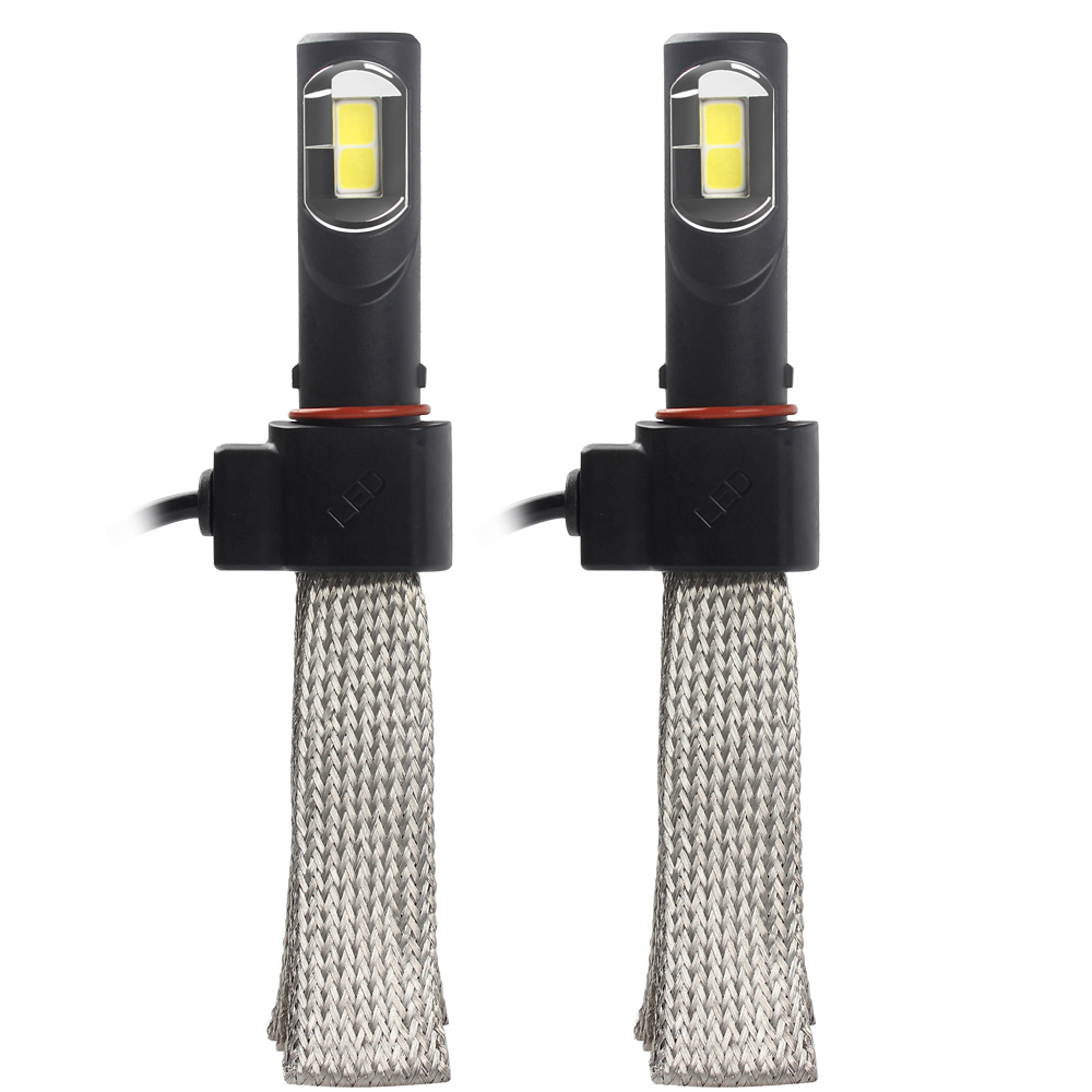 Car Styling Aluminum alloy belt Heat Dissipation 36W/each bulb 4000LM Conversion Kit H4 6000K Easy to Install LED Headlight #HP<br><br>Aliexpress