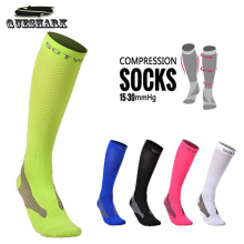 Men Women Long Compression Riding Bike Cycling Socks Sports Hiking Running Stockings Athletic Marathon Football Soccer Socks(China)