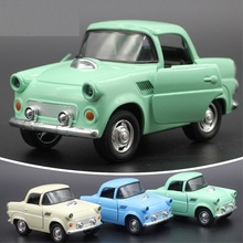 classical car Mini pull back car toys with music Flashing led door can open an alloy metal model toy for children Vehicles