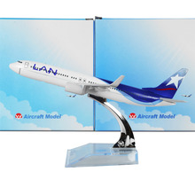 LAN Airlines Boeing 737 Chile 16cm Metal Alloy Model Plane Toy Airplane Models Child Birthday Gift Plane Models Free Shipping(China)