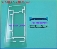 20set/Lot Original Front Frame Sticker + Rear Back Cover case Door Adhesive For Samsung Galaxy A310 ( A3 2016 Version) Tape Glue