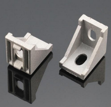 1pc 2020 corner fitting angle aluminum 20 x 20 L connector bracket fastener match use 2020 industrial aluminum profile
