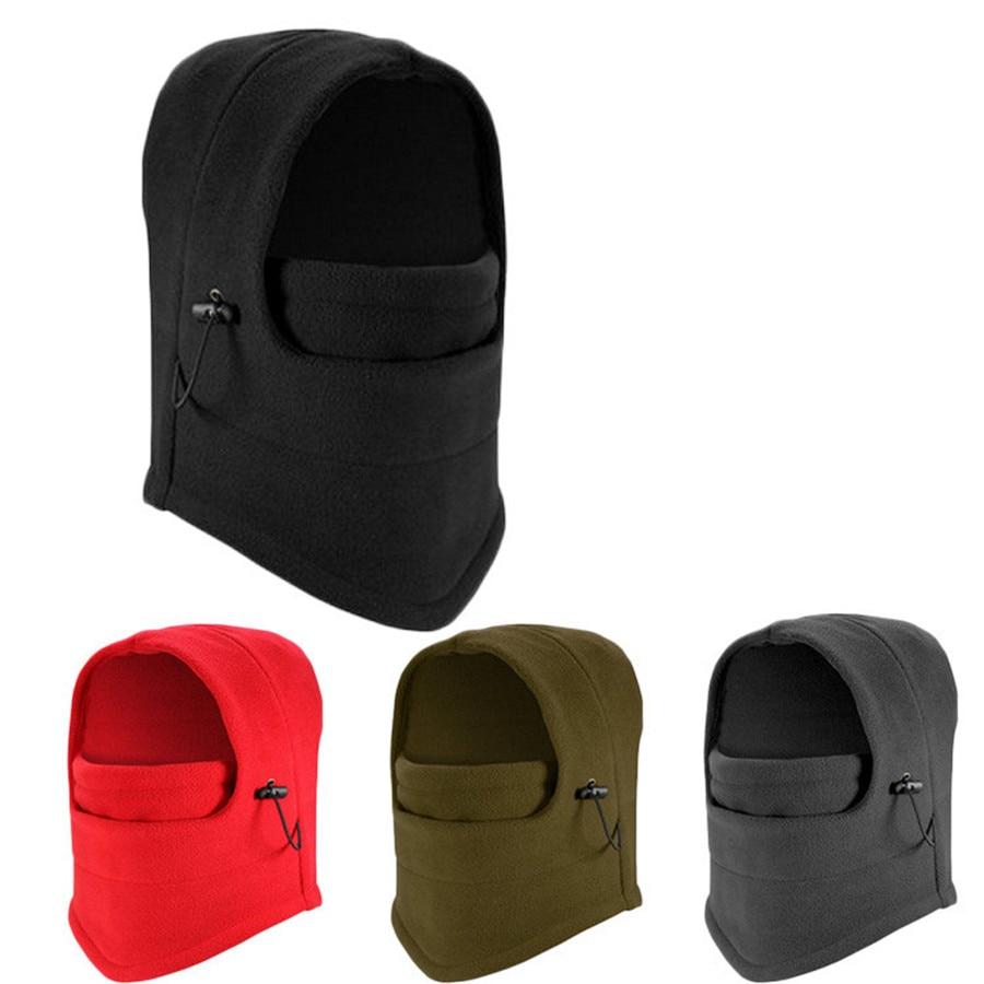 COSPLACOOLwinter warm Fleece beanies hats for men skull bandana neck balaclava snowboard face mask Wargame Special Forces MaskÎäåæäà è àêñåññóàðû<br><br><br>Aliexpress