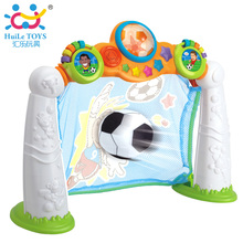 2 in 1 Football Game Toy Kids Toys Gifts Soccer Scoring Goal Game with Music & Light , 3 Modes (Penalty, Pass, Time Challenge)