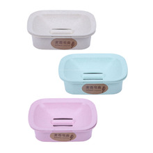 Soap Storage Box Dish Case Makeup Organizer Water Drain Sponge Holder For Kitchen Bathroom Kitchen Organizer(China)