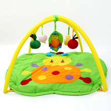 New Arrivals Cotton Baby Play Mats Green Apple Baby Kids Crawling Pad Soft Play Activity Gym Toy Blanket Educational Toy Cheap(China)