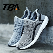 TBA Mens Running Shoes Breathable Air Mesh Men's Winter Sneakers Rubber Sole Top Quality Men's Sport Shoes Male Outdoor Sneakers