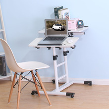 Swap around mobile notebook computer desk. The bedside table. The lazy man computer desk. The lifting table(China)