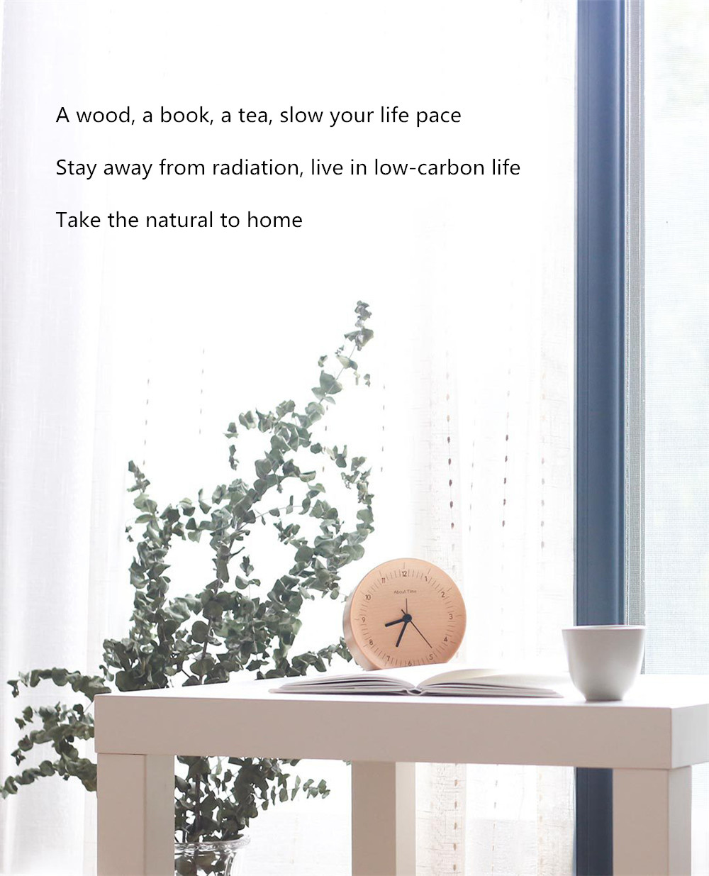 Xiaomi Mute Wooden Alarm Clock (8)
