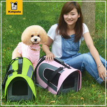 2017 New Dog Carriers Pet Dog Backpack Fashion Outdoor Dog Bags Breathable Folding Luggage Bags for Dog Cat Portable Tote Bag