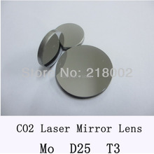 RAY OPTICS-Mo lens Co2 laser mirror diameter 25mm , thickness 3mm for CO2 Laser