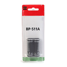 BP-511A Batteries BP 511A BP511A 511 Digital Lithium Camera Battery Pack For Canon EOS 300D 10D 20D 30D 40D 50D D30 D60 5D G6