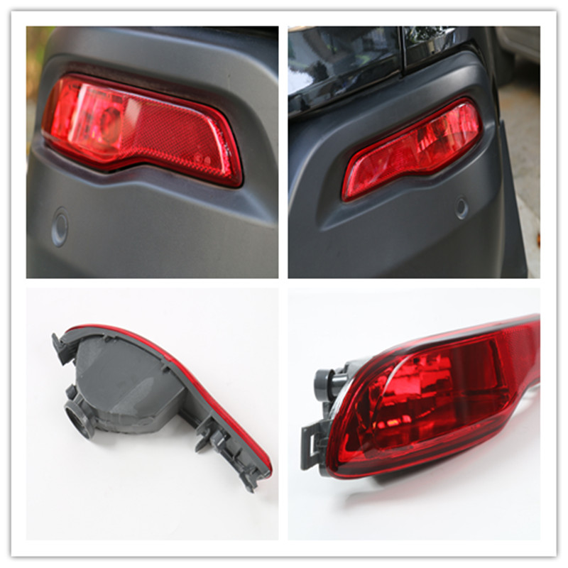 2pcs/Lot Led External Rear Tail Bumper Fog Light Lamps Light Taillights Assembly For Jeep Cherokee 2014-2016<br><br>Aliexpress
