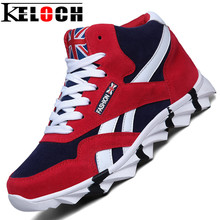 Keloch New Style Men Running Shoes Outdoor Jogging Training Shoes Sports Sneakers Men Keep Warm Winter Snow Shoes For Running(China)