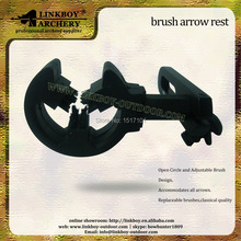 New product  brush arrow rest archery arrow  for hunting shooting  1pcs/plastic 1pcs/lot