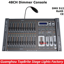 2017 New Arrival 48CH Dimmer Console 48 Channels DMX512 Controller Professional Stage DJ Disco Lighting Equipments Free Shipping(China)