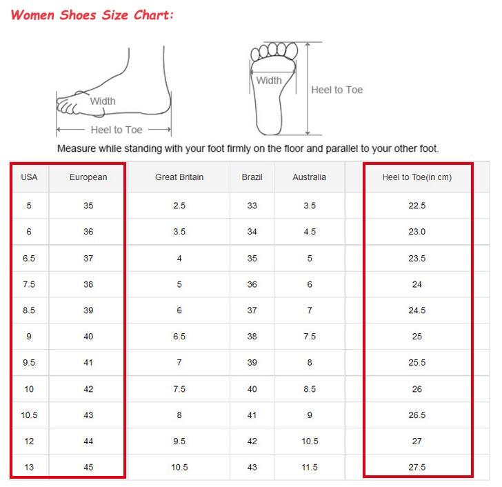 women size....