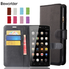Buy HomTom HT7 Case High PU Leather Case Card Slots 9 Colors Bags Lichee Pattern Flip Stand Wallet Phone Cases Cover for $3.89 in AliExpress store