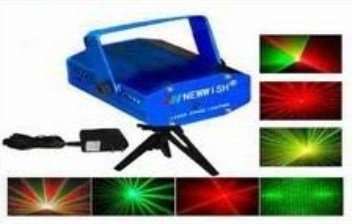 12pcs Twinkle star mini laser stage light  free shipping<br><br>Aliexpress